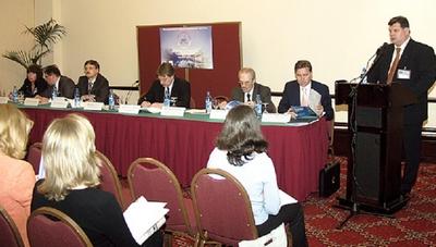 Презентация выставки «Мир Климата», Москва, 2004год