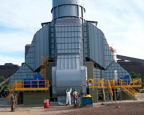 Пусконаладочные работы по запуску огромного промышленного вентилятора