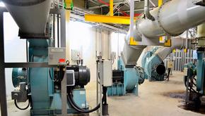 Электромонтаж промышленных вентиляторов требует привлечения высококвалифицированных электриков