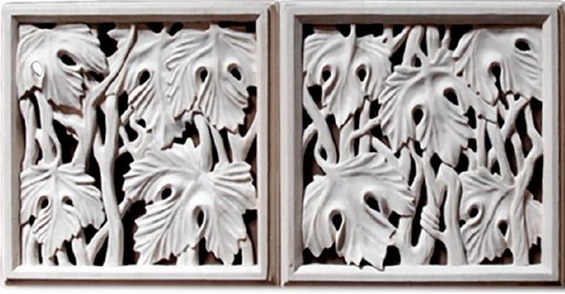 Деревянные вентиляционные решетки ручной работы. Автор Валерий Зельтин