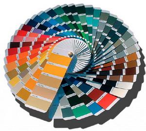 Крупные производители предлагают окраску вентрешеток в любой цвет по палитре RAL