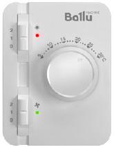 Новое поколение пультов управления BRC для тепловых завес Ballu