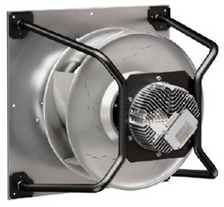 Новый центробежный ЕС-вентилятор RadiPac от ebm-papst