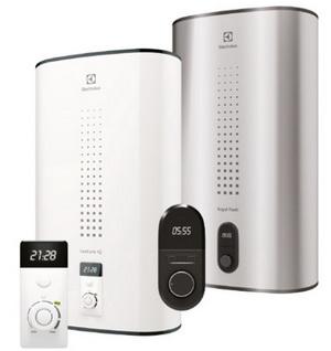 Новые возможности водонагревателей Electrolux