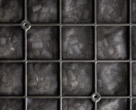 Моющийся угольный фильтр Mitsubishi Electric